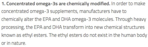 Concentrated Omega -3s