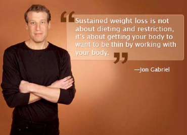 Jon Gabriel - About dieting