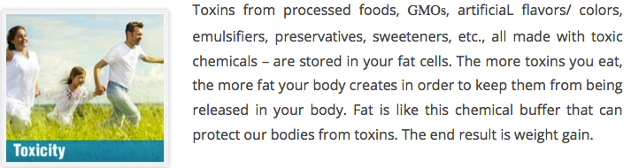 TOXICITY and weight gain