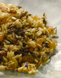 Wild rice with Almonds