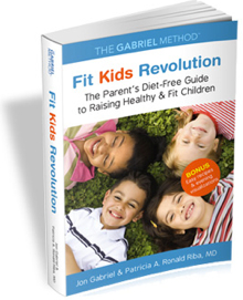 Fit Kids revolution Book- paperback 224 pages - worldwide shipping - The Gabriel Method