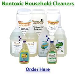 Non-toxic Home Cleaning Products – Safe, green, natural eco-friendly solutions…