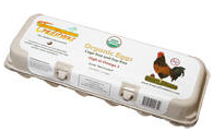 REAL Organic Soy-free Eggs – 8 dozen Retail: $76.00 Now: $55.99