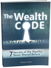 "Your free e-book from Winter Vee ""The Wealth Code"""